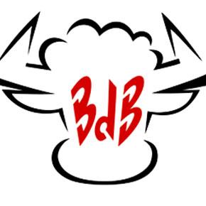 Création du logo et du mobilier pour Le Bar du Boucher à Bordeaux