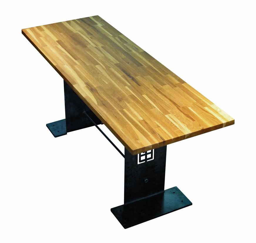 Indus gamme de mobilier design original de style industriel bruno grange cossou - Table de salon bar ...