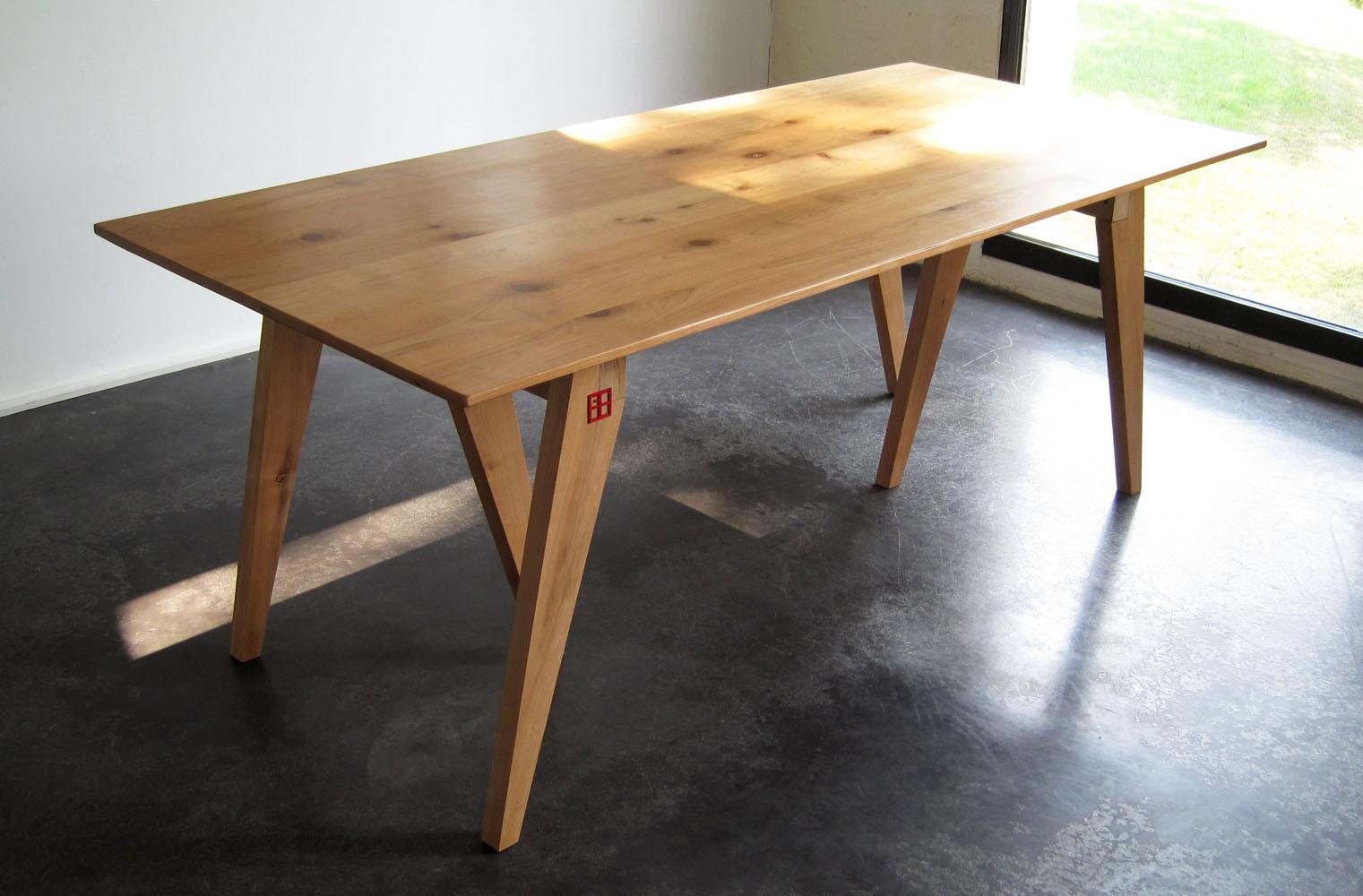 table mod le chevalet bruno grange cossou. Black Bedroom Furniture Sets. Home Design Ideas