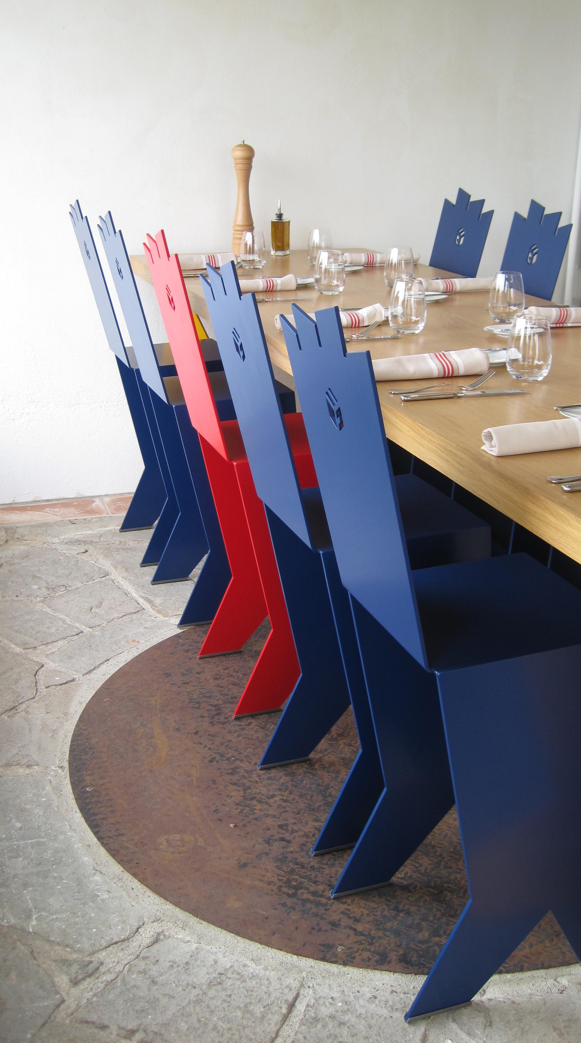 4- GORRI, la table du chef, détail