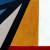 2- Composition animale, détrempe l'oeuf sur toile marouflée sur bois, détail, 250-120 cm